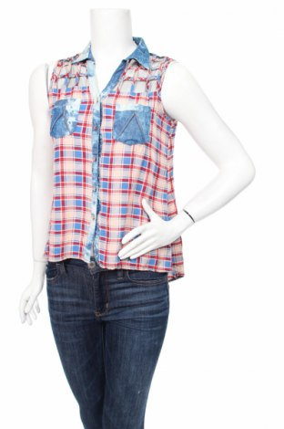 Дамска риза Miss Charm, Размер S, Цвят Многоцветен, 65% памук, 35% полиестер, Цена 22,05лв.