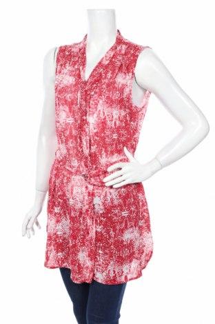 Дамска риза Sandwich_, Размер M, Цвят Червен, 60% вискоза, 40% памук, Цена 8,13лв.