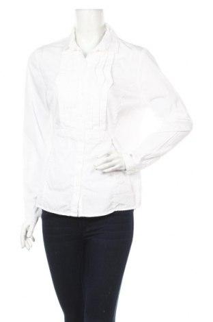 Дамска риза Simple, Размер L, Цвят Бял, 100% памук, Цена 12,42лв.