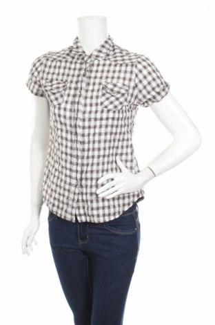 Дамска риза Unic, Размер M, Цвят Кафяв, 60% памук, 40% полиестер, Цена 4,20лв.