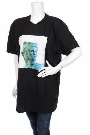 Дамска тениска Missguided, Размер L, Цвят Черен, Памук, Цена 24,00лв.