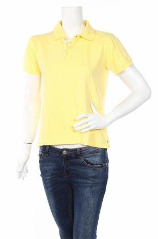 Дамска тениска Tbs, Размер M, Цвят Жълт, 96% памук, 4% еластан, Цена 12,60лв.