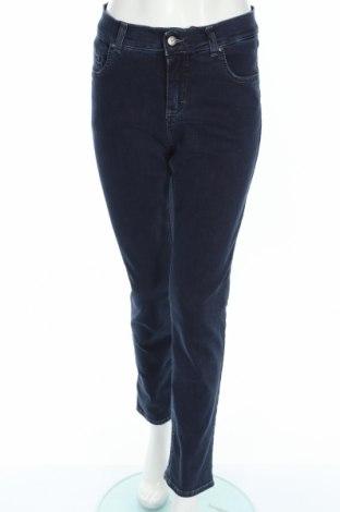Blugi de femei Angels, Mărime XL, Culoare Albastru, 97% bumbac, 3% elastan, Preț 50,53 Lei