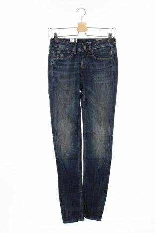 Дамски дънки G-Star Raw, Размер S, Цвят Син, 98% памук, 2% еластан, Цена 56,55лв.