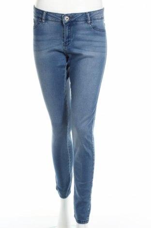 Дамски дънки Motivi, Размер M, Цвят Син, 65% памук, 33% лиосел, 2% еластан, Цена 24,92лв.