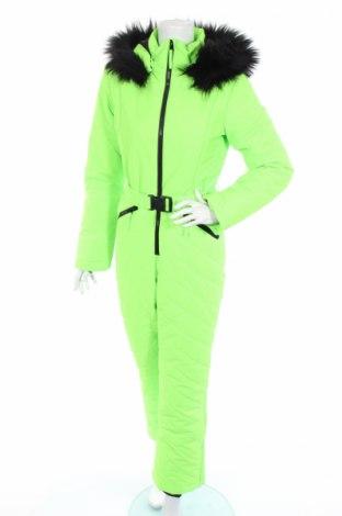 Дамски гащеризон за зимни спортове Missguided, Размер S, Цвят Зелен, Полиестер, Цена 129,00лв.