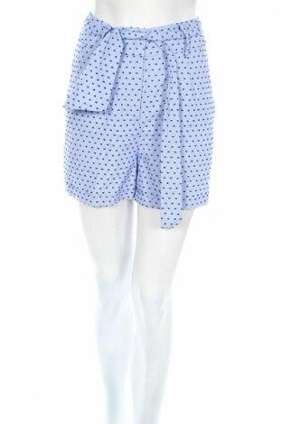 Дамски къс панталон Edited, Размер XS, Цвят Син, Памук, Цена 8,03лв.