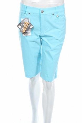 Дамски къс панталон Golfino, Размер M, Цвят Син, 94% полиамид, 6% еластан, Цена 18,40лв.