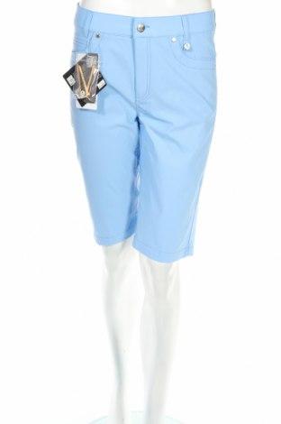 Дамски къс панталон Golfino, Размер M, Цвят Син, 94% полиамид, 6% еластан, Цена 23,92лв.