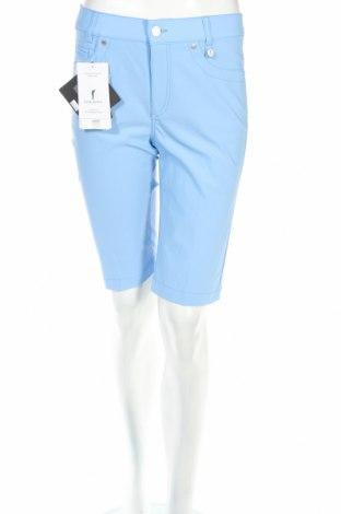 Дамски къс панталон Golfino, Размер S, Цвят Син, 94% полиамид, 6% еластан, Цена 23,92лв.