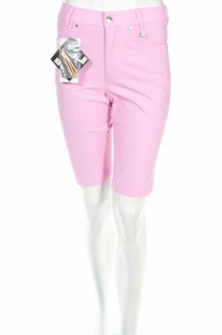 Дамски къс панталон Golfino, Размер XS, Цвят Розов, 94% полиамид, 6% еластан, Цена 23,00лв.