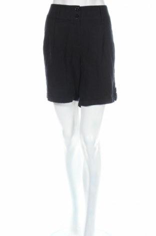 Дамски къс панталон Lc Waikiki, Размер L, Цвят Черен, Вискоза, Цена 21,42лв.