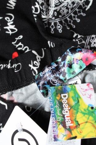Дамски клин Desigual, Размер S, Цвят Многоцветен, 96% памук, 4% еластан, Цена 46,92лв.