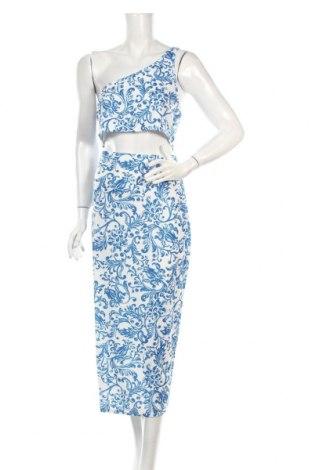Dámsky komplet  Missguided, Veľkosť XL, Farba Modrá, 95% polyester, 5% elastan, Cena  14,38€