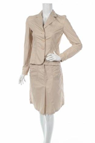 Дамски костюм Kenvelo, Размер S, Цвят Бежов, Памук, Цена 12,00лв.