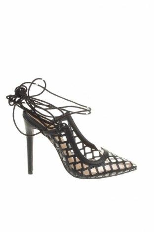 Γυναικεία παπούτσια Ego, Μέγεθος 37, Χρώμα Μαύρο, Δερματίνη, Τιμή 18,76€