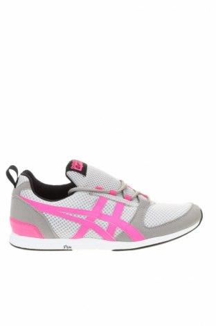 Γυναικεία παπούτσια Onitsuka Tiger, Μέγεθος 42, Χρώμα Γκρί, Κλωστοϋφαντουργικά προϊόντα, δερματίνη, Τιμή 33,25€