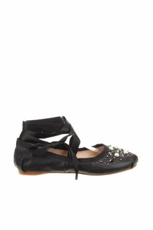 Γυναικεία παπούτσια Topshop, Μέγεθος 38, Χρώμα Μαύρο, Γνήσιο δέρμα, Τιμή 24,12€
