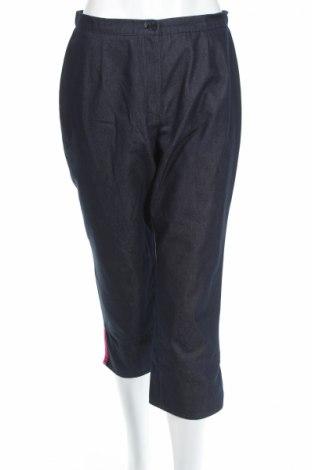 Дамски панталон Un Deux Trois, Размер S, Цвят Син, 65% памук, 35% полиестер, Цена 6,05лв.