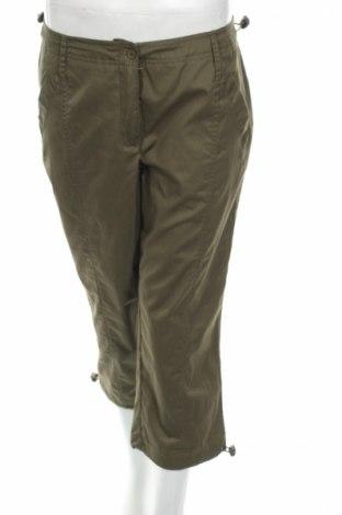 Дамски панталон Bpc Bonprix Collection, Размер M, Цвят Зелен, 55% памук, 45% полиестер, Цена 5,19лв.
