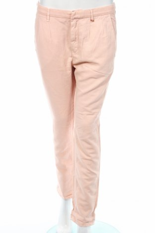 Дамски панталон Gas, Размер M, Цвят Розов, 54% памук, 23% лиосел, 23% лен, Цена 67,60лв.