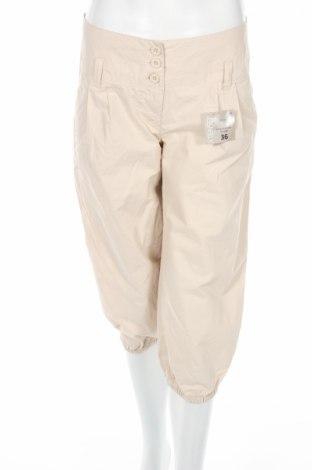 Дамски панталон Inextenso, Размер S, Цвят Бежов, 100% памук, Цена 5,80лв.