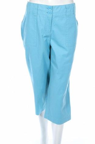 Дамски панталон Liz&co, Размер XL, Цвят Син, Памук, Цена 46,93лв.