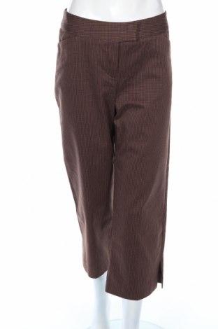 Дамски панталон Nine West, Размер M, Цвят Кафяв, 70% памук, 28% полиестер, 2% еластан, Цена 10,40лв.