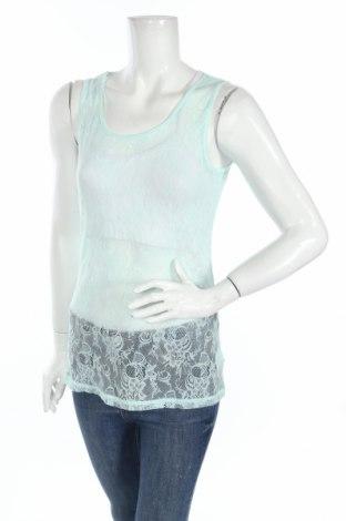 Γυναικείο αμάνικο μπλουζάκι Bel&Bo, Μέγεθος L, Χρώμα Μπλέ, 95% πολυαμίδη, 5% ελαστάνη, Τιμή 2,11€
