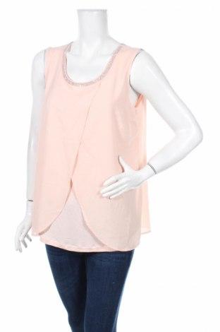Γυναικείο αμάνικο μπλουζάκι Jbc, Μέγεθος M, Χρώμα Ρόζ , Τιμή 3,31€
