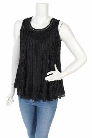 Γυναικείο αμάνικο μπλουζάκι Petite, Μέγεθος S, Χρώμα Μαύρο, Πολυεστέρας, Τιμή 3,09€