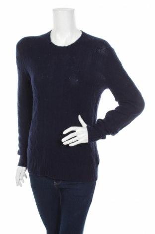 Дамски пуловер Ralph Lauren, Размер S, Цвят Син, Кашмир, Цена 108,36лв.