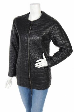 Γυναικείο δερμάτινο μπουφάν Pepe Jeans, Μέγεθος XS, Χρώμα Μαύρο, Δερματίνη, Τιμή 11,60€