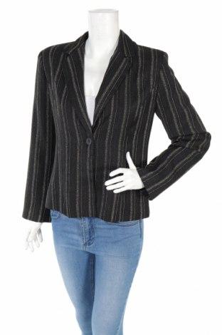 Дамско сако, Размер L, Цвят Черен, 60% вискоза, 40% полиестер, Цена 24,30лв.