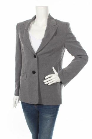 Дамско сако Bershka, Размер S, Цвят Сив, Полиестер, Цена 24,80лв.