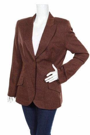 Дамско сако Hennes, Размер XL, Цвят Кафяв, Цена 33,28лв.