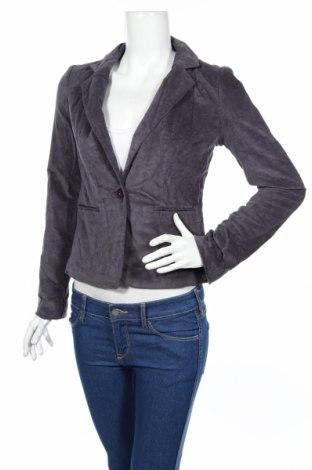 Дамско сако Just Jeans, Размер S, Цвят Сив, Памук, еластан, Цена 70,20лв.