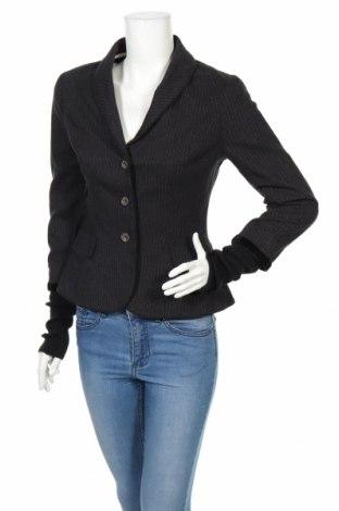 Дамско сако Noa Noa, Размер M, Цвят Черен, 82% памук, 16% вълна, 2% еластан, Цена 53,03лв.
