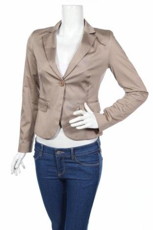 Дамско сако Rinascimento, Размер M, Цвят Кафяв, 97% памук, 3% еластан, Цена 70,71лв.