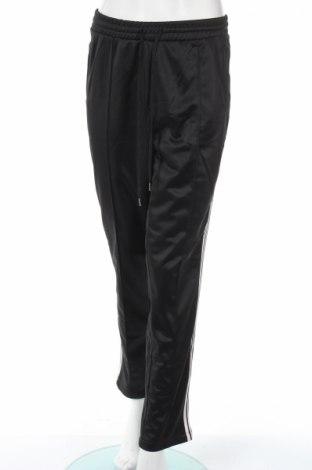 Дамско спортно долнище H&M Divided, Размер L, Цвят Черен, Полиестер, Цена 10,82лв.