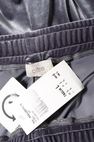 Дамско спортно долнище Oltre, Размер L, Цвят Сив, 95% полиестер, 5% еластан, Цена 44,25лв.