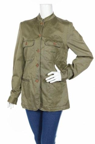 Дамско яке Comfort, Размер L, Цвят Зелен, Памук, Цена 10,66лв.