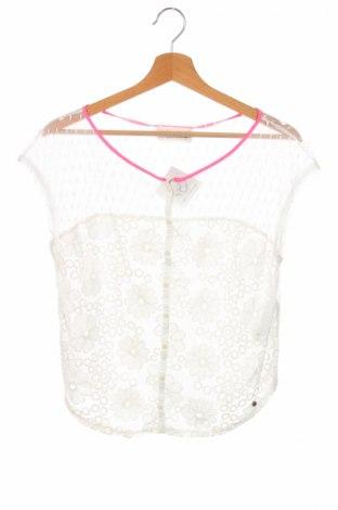 Детска риза Abercrombie Kids, Размер 14-15y/ 168-170 см, Цвят Бял, 100% полиамид, Цена 6,30лв.