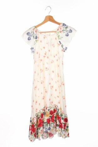 Детска рокля Zara, Размер 11-12y/ 152-158 см, Цвят Многоцветен, Вискоза, Цена 20,02лв.