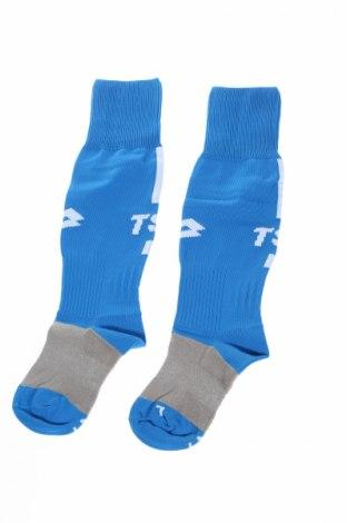 Детски спортни чорапи Lotto, Размер 7-8y/ 128-134 см, Цвят Син, 85% полиамид, 10% памук, 5% еластан, Цена 17,28лв.