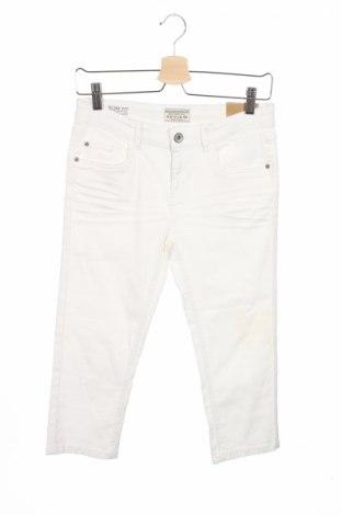 Детски дънки Review, Размер 15-18y/ 170-176 см, Цвят Бял, 97% памук, 3% еластан, Цена 9,60лв.
