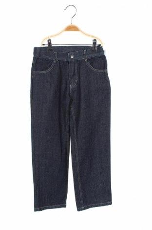 Детски дънки U.S. Polo Assn., Размер 7-8y/ 128-134 см, Цвят Син, 80% памук, 20% полиестер, Цена 13,33лв.