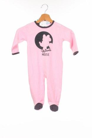 Salopetă pentru copii. Disney, Mărime 12-18m/ 80-86 cm, Culoare Roz, 75% bumbac, 25% poliester, Preț 56,37 Lei