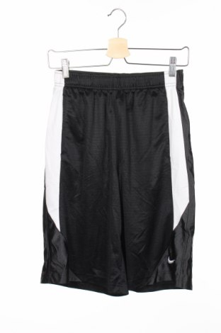 Детски къс панталон Nike, Размер 11-12y/ 152-158 см, Цвят Черен, Полиестер, Цена 14,96лв.