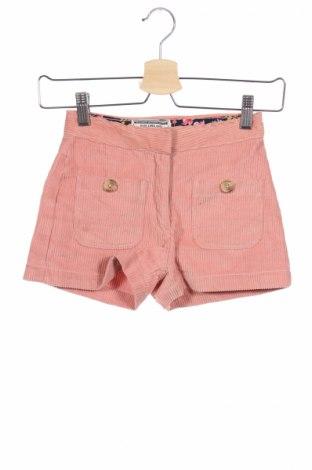 Детски къс панталон Review, Размер 6-7y/ 122-128 см, Цвят Розов, Памук, Цена 17,00лв.